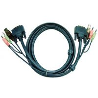 cordon KVM Aten DVI/USB/Audio - 1,80M