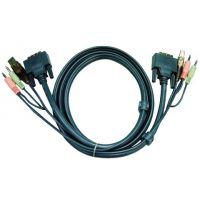 cordon KVM Aten DVI/USB/Audio - 1,80M