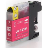 Cartouche magenta compatible Brother LC-121M-123M