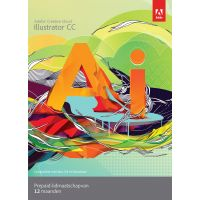 ADOBE ESD Illustrator Creative Cloud Abonnement 1 an Francais