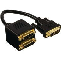 Câble répartiteur DVI-D vers 2x DVI-D