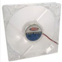 Ventilateur Heden 8cm transparent, 1500rpm