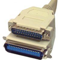 Câble imprimante SubD-25 centronics, 2m