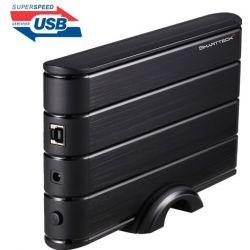 """Boitier Smartteck B35932-BK externe 3""""1/2 SATA sur port USB3.0"""