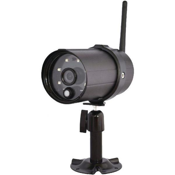 Cam ra k nig d 39 ext rieur wi fi hd ip66 noir pour sas clalarm syst mes caron informatique - Camera exterieur wifi ...