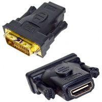 Adaptateur DVI Mâle 24+5 vers HDMI femelle 19 pins