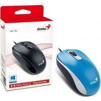Souris Genius DX-110, USB, bleue