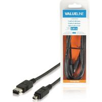 Câble Firewire 4 vers 6 pins en 2 mètres