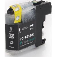 Cartouche noire compatible Brother LC-121BK/LC-123BK, 20ml
