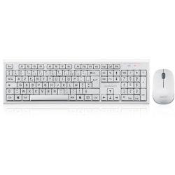 Ensemble clavier / souris sans fil Perixx Periduo-711, blanc