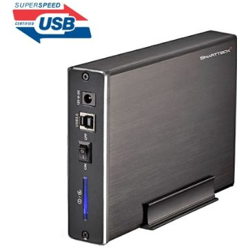 """Boitier Smartteck externe B35931-BK 3""""1/2 SATA sur port USB3.0"""