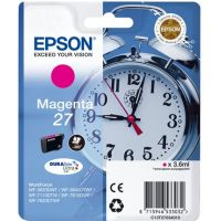 Cartouche Magenta Epson 27, 4ml, 350 pages