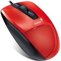 Souris Genius DX-120, USB, Rouge