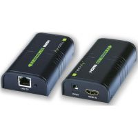 Techly HDMI extender Cat.6/6a.7 cable, jusqu'à 60m Full HD 3D