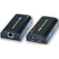 Techly HDMI extender Cat.6/6a.7 cable, jusqu'à 60m Full HD 3D