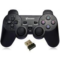 Gamepad Vakoss GP-3755BK, filaire USB, PC/PS3, noire