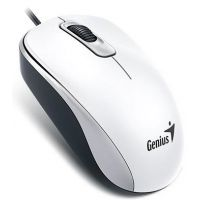 Souris Genius DX-110, USB, rouge