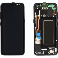 Vitre tactile + Ecran LCD + Châssis Samsung Galaxy S6 Edge (G925F)