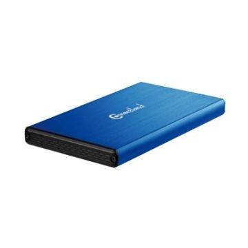 Boitier ConnectLand pour HDD/SSD sur USB 3.0, bleu