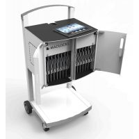 "Chariot de charge Compulocks UNO-EU ""Uno"" iPad Charging Cart - Tablet/Ultrabook Charging Unit 16 Modular Cart"