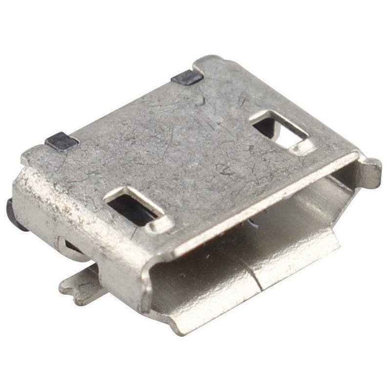 USB Micro femelle a Souder Type 4 SMD SMT Connecteur Assemblage Charging Socket
