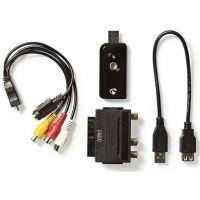 Numériseur Vidéo | Câble A/V / Péritel | Logiciel Inclus | USB 2.0