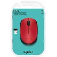 Souris LOGITECH M171 Wireless Mouse RED