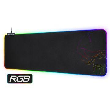 Tapis Skull RGB Gaming mouse pad - Taille XXL (Réf. : SOG-PADXXRGB)