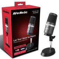 AVERMEDIA - Microphone à condensateur unidirectionnel - AM310