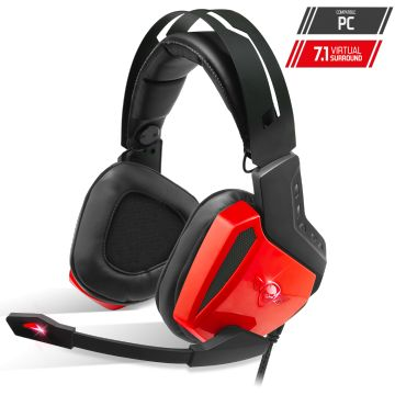 Casque micro XPERT-H100 Red Edition (Réf. : MIC-XH100RE)
