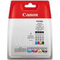 Pack de cartouches Canon CLI-571 (noire et couleur)