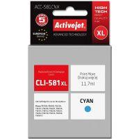 ActiveJet comp. Canon CLI-581C XL, cyan, 11.7ml