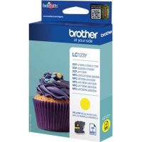 BROTHER LC-123, jaune, 600 pages