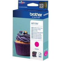 BROTHER LC-123, magenta, 600 pages