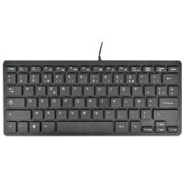MCL Mini clavier USB Azerty - Noir