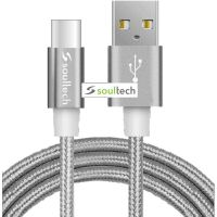 Câble Soultech metallic Rope USB-C DK037G