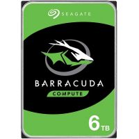 Seagate Barracuda HDD 3.5'' 6TB SATA3 5400RPM 256MB