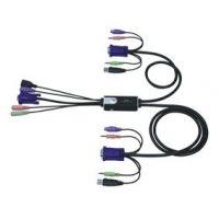 Commutateur KVM Aten USB, avec audio
