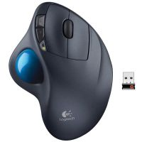 Logitech Wireless Trackball M570 (Noir / Bleu)