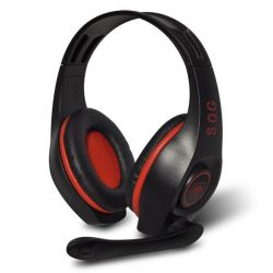 Casque micro Spirit Of Gamer Pro-H5 Red, rouge