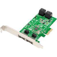 Carte contrôleur Dawicontrol DC-324e, 4 SATA2, PCI-E1x