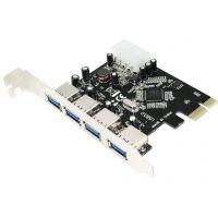 Carte contrôleur LogiLink 4x USB3.0 PCI-E