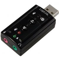 Carte son USB LogiLink Virtual 7.1