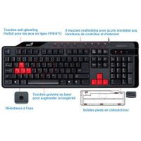 Clavier Genius Gaming Keybpoard Perfect for FPS/STG Games