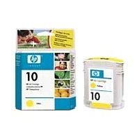 cartouche-hewlett-packard-n10-jaune-ref-c4842ae