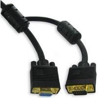 Câble SVGA HD15 Mâle / femelle 15m