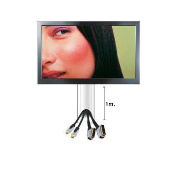 cache c bles pour cran lcd plasma hauteur 1m caron informatique calais d pannage et. Black Bedroom Furniture Sets. Home Design Ideas