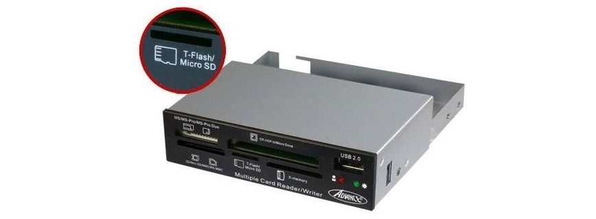 Hub USB & lecteur de cartes