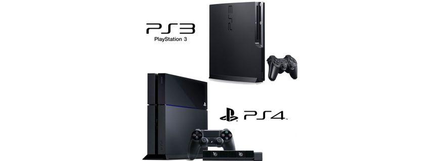 Sony PS3 & PS4