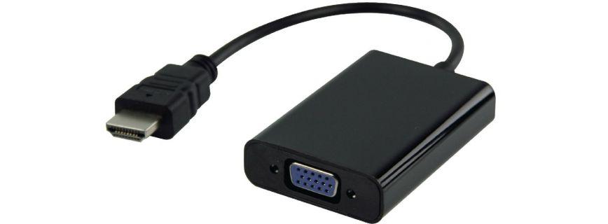 SVGA-HDMI & USB-HDMI